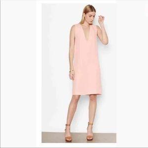 Equipment Femme SILK DRESS ROSE Sz XS